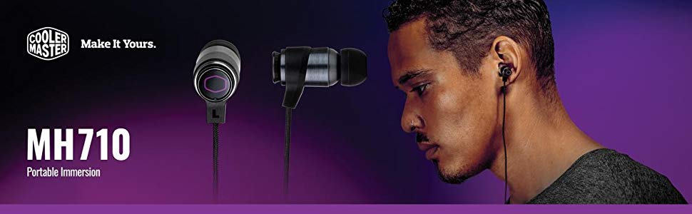 Cooler Master MH710 Gaming In ear Headset Features 1