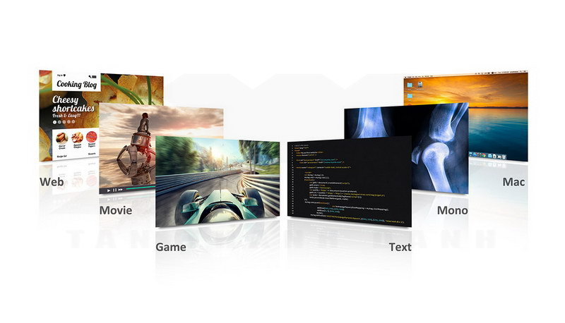 ViewSonic VX2458 C mhd Gaming Monitor Features 9