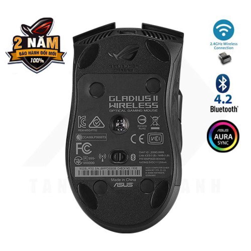 ASUS ROG Gladius II Wireless Gaming Mouse - Tân Thành Danh