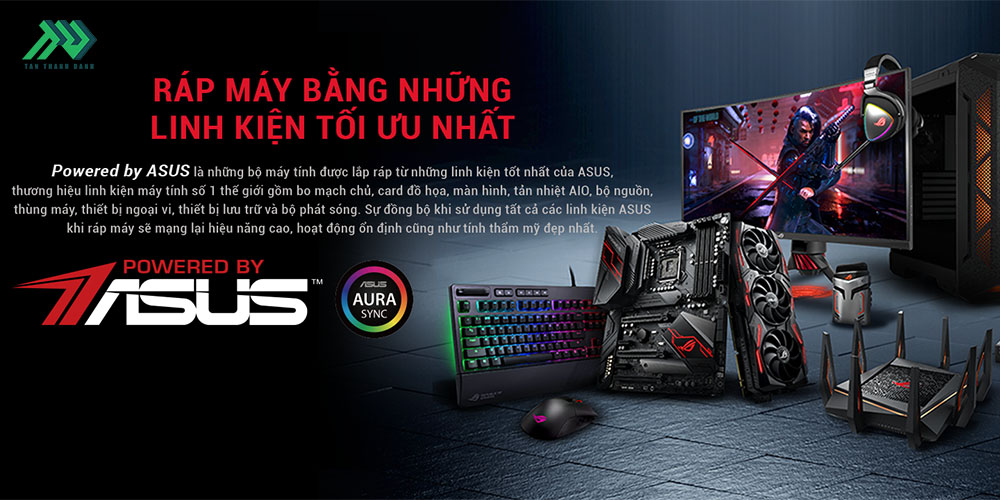 TTD PC PoweredByASUS Featured WebsiteBanner