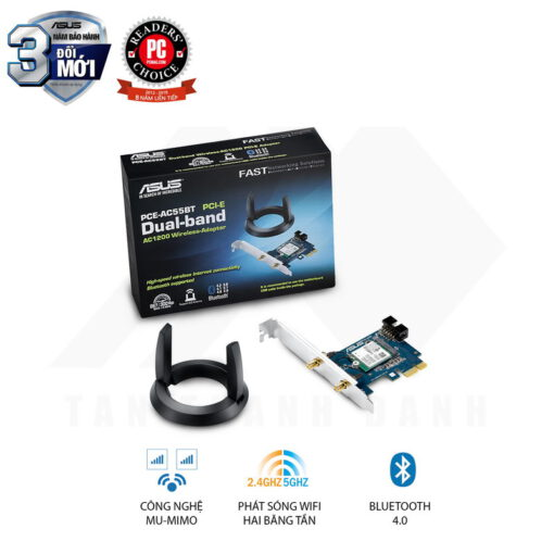 06 PCE AC55BT wifi hai bang tan ac1200