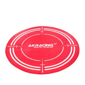 AKRacing Floormat Red 3