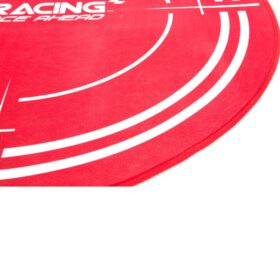 AKRacing Floormat Red 6