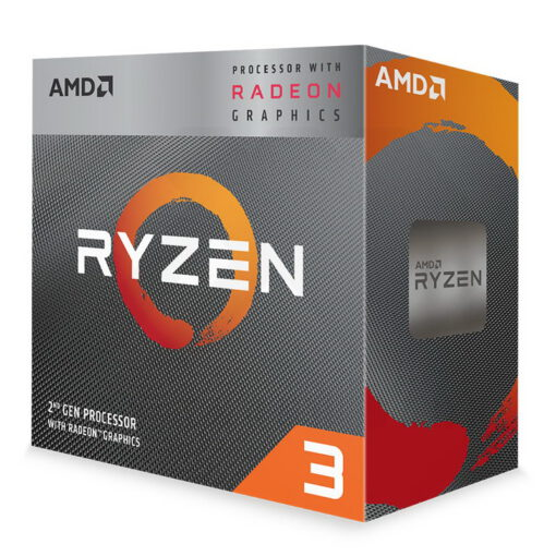 AMD Ryzen 3 Radeon 3000 Series with Wraith Stealth 1