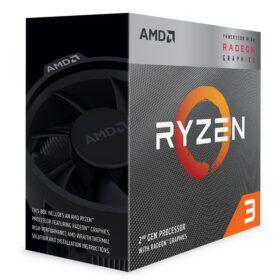 AMD Ryzen 3 Radeon 3000 Series with Wraith Stealth 2
