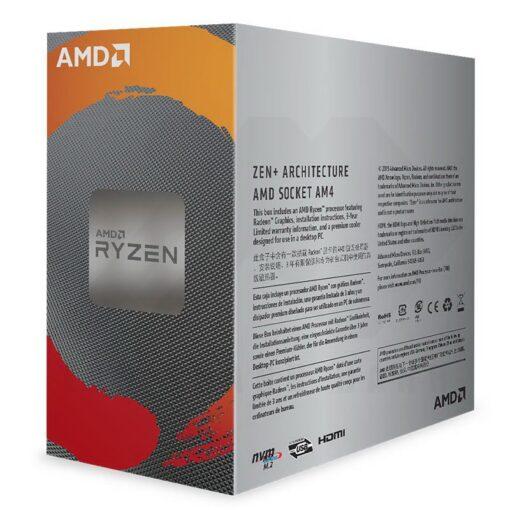 AMD Ryzen 3 Radeon 3000 Series with Wraith Stealth 3