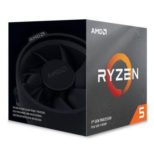 AMD Ryzen 5 3000 Series with Wraith Spire 2
