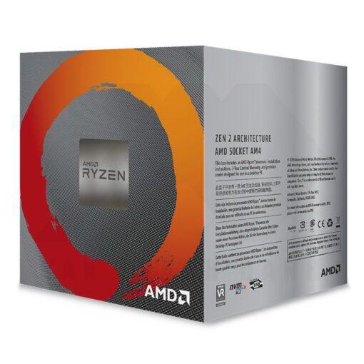 AMD Ryzen 5 3000 Series with Wraith Spire 3