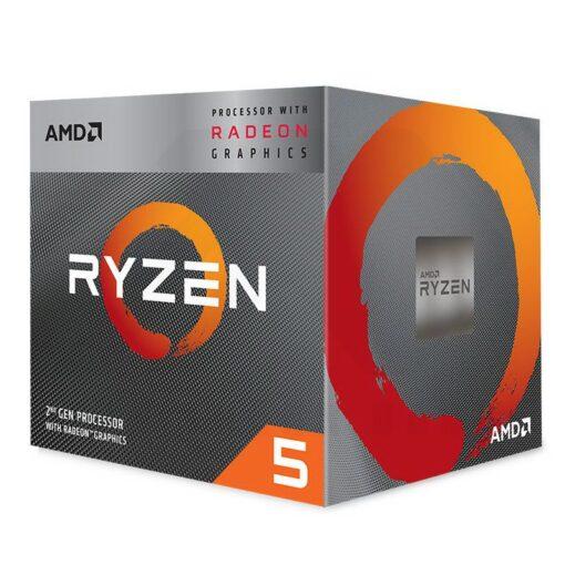 AMD Ryzen 5 Radeon 3000 Series with Wraith Spire 1