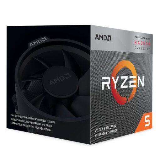 AMD Ryzen 5 Radeon 3000 Series with Wraith Spire 2