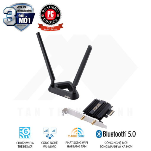ASUS PCE AX58BT Wireless Network PCIe Adapter 1