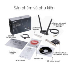 ASUS PCE AX58BT Wireless Network PCIe Adapter 7