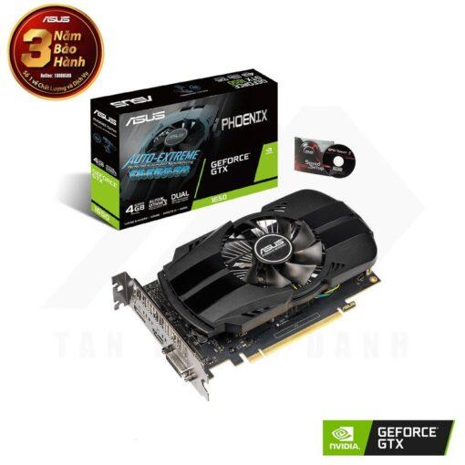 ASUS Phoenix Geforce GTX 1650 4G Graphics Card 1