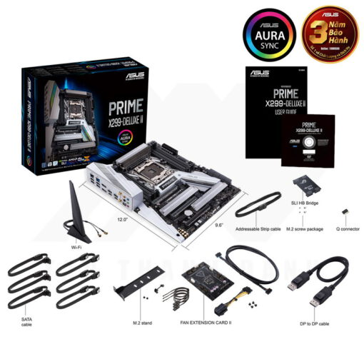ASUS Prime X299 Deluxe II Mainboard 7