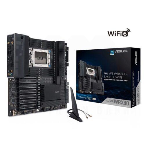 ASUS Pro WS WRX80E SAGE SE WIFI Server Workstation Mainboard