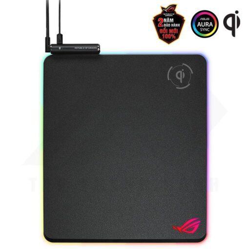 ASUS ROG Balteus Qi Gaming Mouse Pad 1