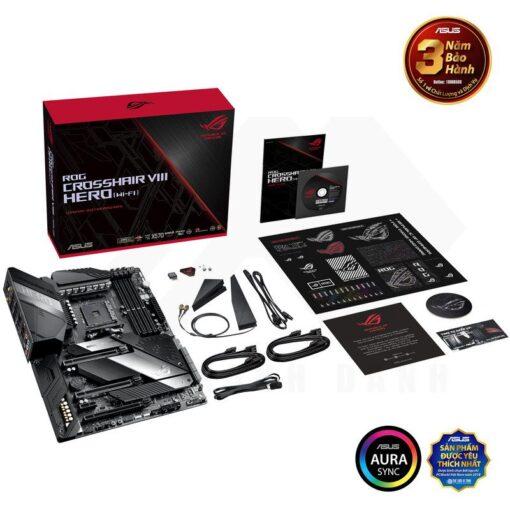 ASUS ROG Crosshair VIII Hero WI FI Mainboard X570 Chipset 6