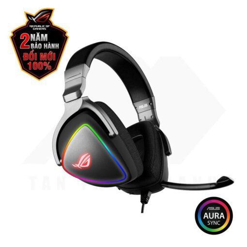 ASUS ROG Delta RGB 7.1 Surround Gaming Headset 5