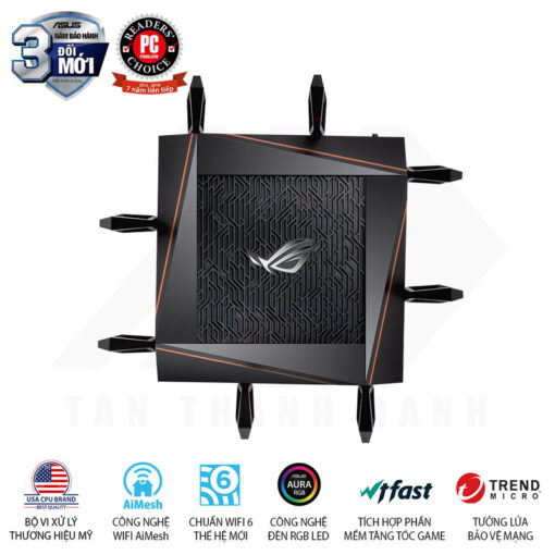 ASUS ROG Rapture GT AX11000 6000Mbps AiMesh MU MIMO 3