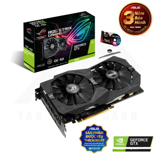 ASUS ROG Strix Geforce GTX 1650 OC Edition 4G Graphics Card 1