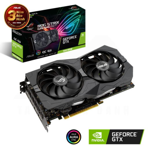 ASUS ROG Strix Geforce GTX 1660 SUPER OC Edition 6G Graphics Card 1
