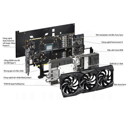 ASUS ROG Strix Geforce RTX 2080 SUPER OC Edition 8G Graphics Card 6