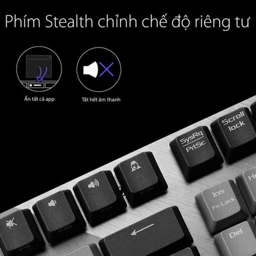 ASUS ROG Strix Scope PBT Gaming Keyboard 3