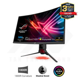 ASUS ROG Strix XG32VQR Curved Gaming Monitor 31.5 WQHD 144Hz 1ms FreeSync HDR 2