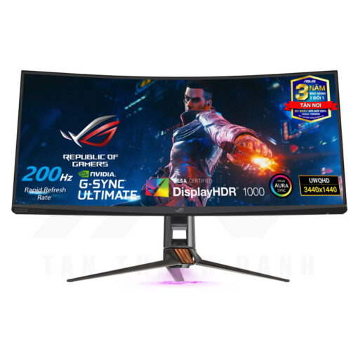 ASUS ROG Swift PG35VQ Curved Gaming Monitor 0