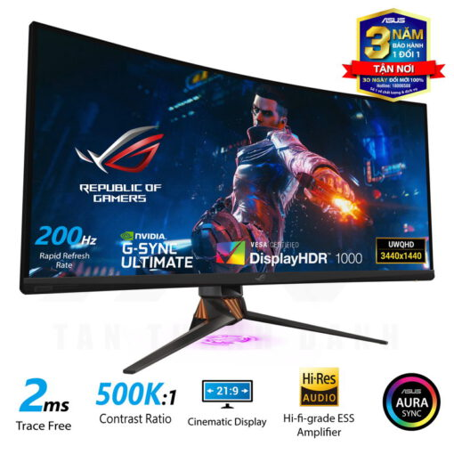 ASUS ROG Swift PG35VQ Curved Gaming Monitor 3