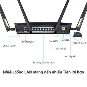 ASUS RT AX88U Gaming Router 2019 08 6