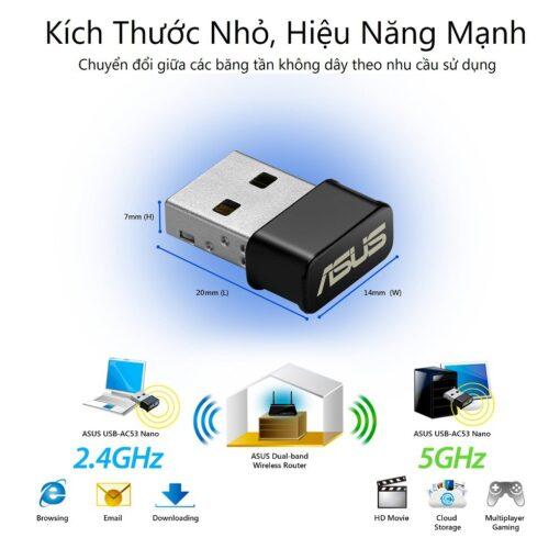 ASUS USB AC53 Nano AC1200 Wireless Adapter 4