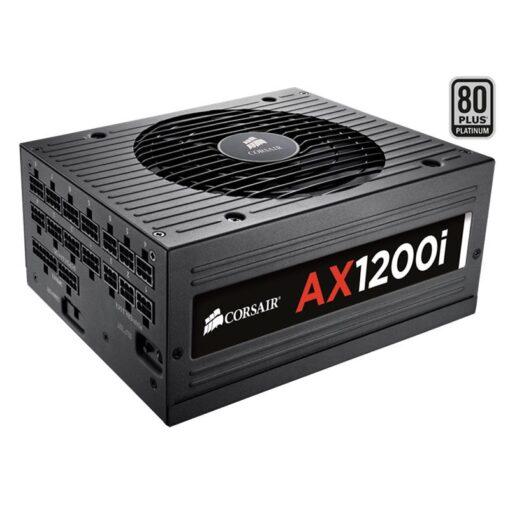 CORSAIR AXi Series™ AX1200i PSU 1200 Watt 80 PLUS® Platinum Fully Modular