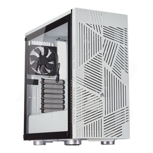CORSAIR Carbide 275R Airflow Tempered Glass Case – White 1