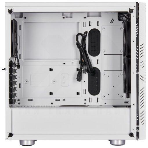 CORSAIR Carbide 275R Airflow Tempered Glass Case – White 3