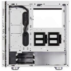 CORSAIR Carbide 275R Airflow Tempered Glass Case – White 5