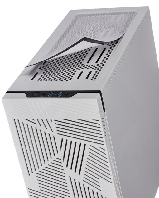 CORSAIR Carbide 275R Airflow Tempered Glass Case – White 6
