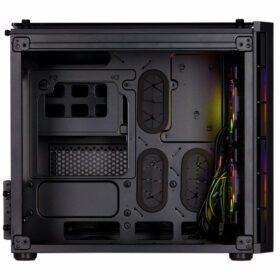 CORSAIR Crystal Series 280X RGB Tempered Glass Case Black 3