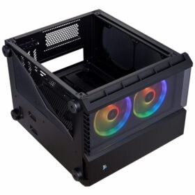 CORSAIR Crystal Series 280X RGB Tempered Glass Case Black 6