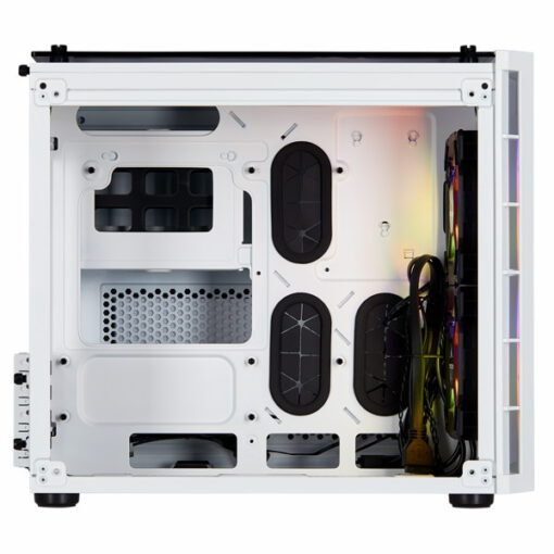 CORSAIR Crystal Series 280X RGB Tempered Glass Case White 3