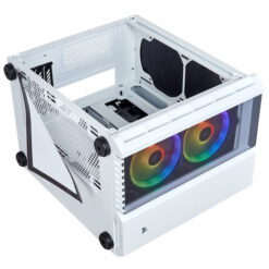 CORSAIR Crystal Series 280X RGB Tempered Glass Case White 6