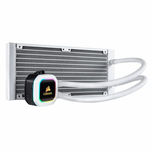 CORSAIR Hydro Series H100i RGB PLATINUM SE 240mm Radiator With Dual Fan 2