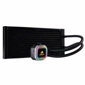 CORSAIR Hydro Series H115i RGB PLATINUM 280mm Radiator With Dual Fan 2