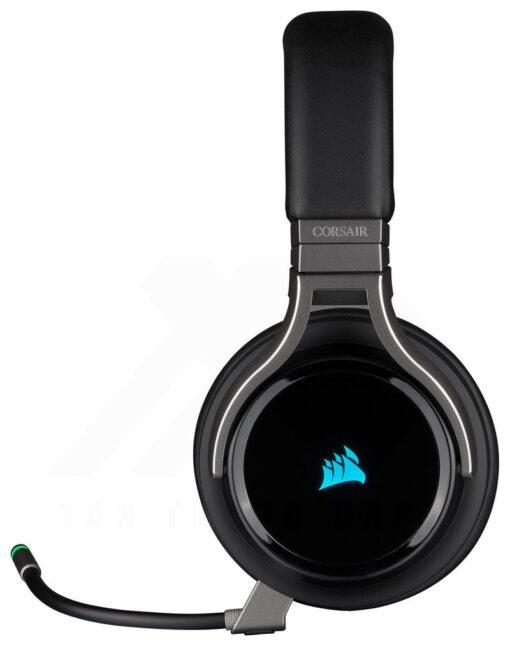 CORSAIR VIRTUOSO RGB Wireless HiFi Gaming Headset Carbon 2