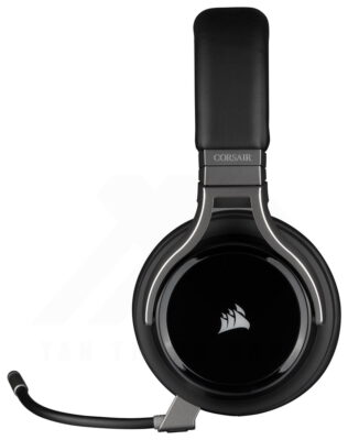 CORSAIR VIRTUOSO RGB Wireless HiFi Gaming Headset Carbon 9
