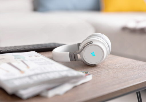 CORSAIR VIRTUOSO RGB Wireless HiFi Gaming Headset White 10