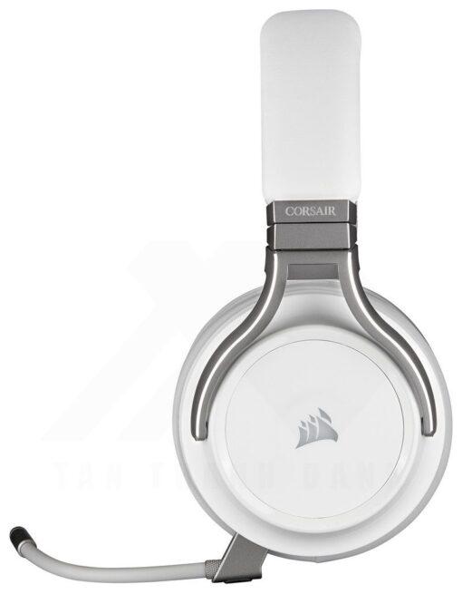 CORSAIR VIRTUOSO RGB Wireless HiFi Gaming Headset White 9