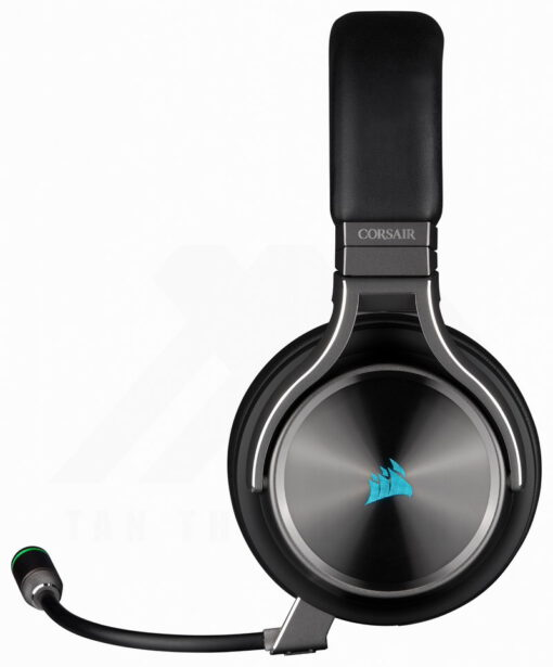 CORSAIR VIRTUOSO RGB Wireless SE HiFi Gaming Headset Gunmetal 2