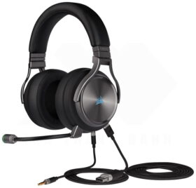 CORSAIR VIRTUOSO RGB Wireless SE HiFi Gaming Headset Gunmetal 4