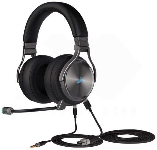 CORSAIR VIRTUOSO RGB Wireless SE HiFi Gaming Headset Gunmetal 4
